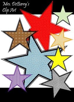Stars Clipart Bundle