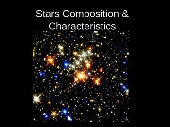 Stars Composition & Characterics Presentation