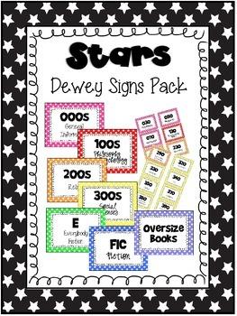 Stars Dewey Signs Pack
