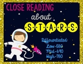 Stars {Differentiated Close Reading Passages & Questions}