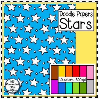 Stars - Doodle Papers