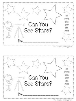 Stars {Emergent Reader Pack}