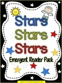 Stars {Emergent Reader Pack}. DISTANCE LEARNING PACKET