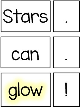 Stars {Emergent Reader Pack with Guided Reading/Pocket Chart Cards}