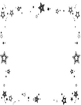 Stars Folder Cover