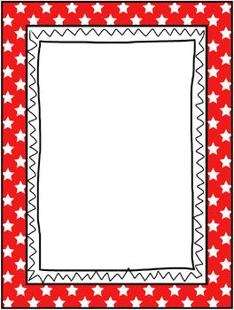 Classroom Decor - Stars Frames, Borders & Labels - 106 Piece Set