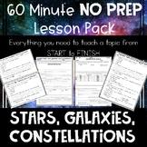 Stars Galaxies Constellations NO PREP Lesson