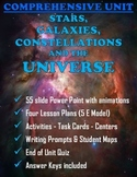 Stars, Galaxies, Constellations and the Universe Comprehen