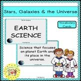 Stars Galaxies Vocabulary Cards