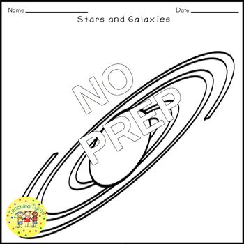 Stars Galaxies Crossword Puzzle