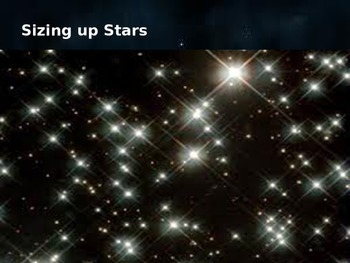 Stars  POWERPOINT 4th Grade Science