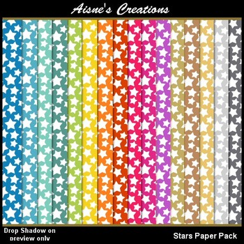 Stars Paper Pack