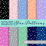 Stars Pattern Digital Paper
