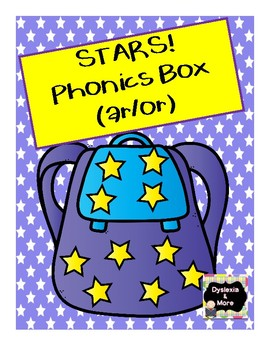 "Stars Phonics Box for ""ar"" and ""or"""