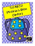 """Stars Phonics Box for """"ar"""" and """"or"""""""