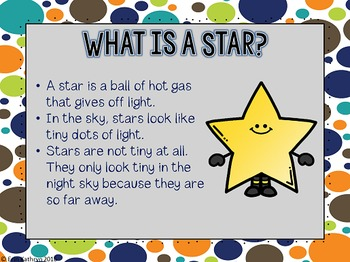 Stars PowerPoint and Notes Set