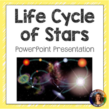 Life Cycle of Stars SMART notebook presentation
