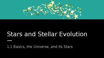 Stars & Stellar Evolution keynote
