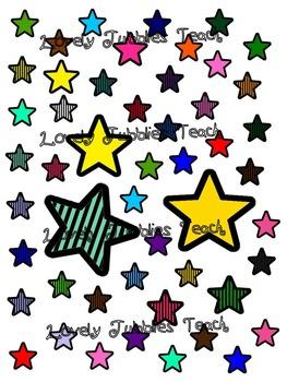 Stars: Sticker Sheet