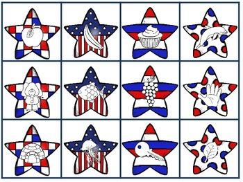 Stars & Stripes Alpha-Freebie