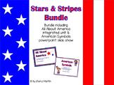 Stars & Stripes Bundle of American Symbols unit & slide show