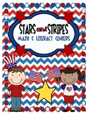 Stars & Stripes Math and Literacy Centers