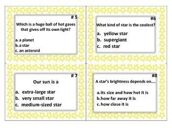 Stars TASK CARDS
