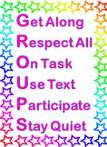 Stars Theme - GROUPS Rules and Expectations