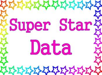 Stars Theme - Super Star Data - Data Wall Poster