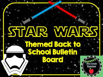 Stars Wars Themed Back to School Bulletin Board