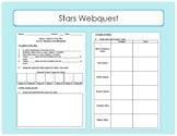 Stars Webquest / Interactive Worksheet