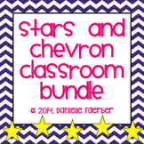 Stars and Chevron Classroom Decor Set