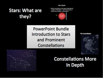 Stars and Constellations Bundle