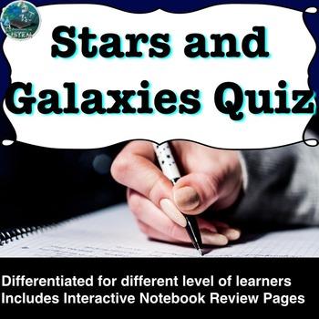 Stars and Galaxies Quiz