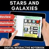 Stars and Galaxies Digital Interactive Notebook (Flip Book)