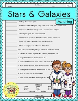 Stars and Galaxies Matching