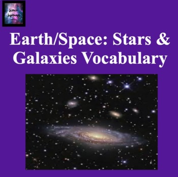 Stars and Galaxies Vocabulary