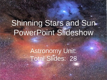Shining Stars and Sun PowerPoint
