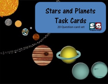Stars and Planets Science Task Cards