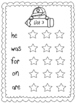 Stars and Stamps Sight Word Lists Fry's First 100 Words