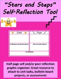 Stars and Steps Self-Reflection Chart