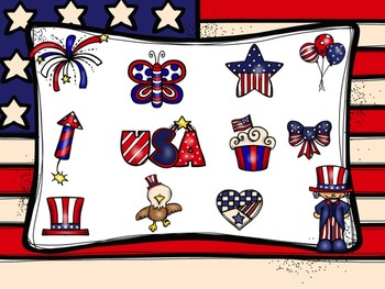 Stars and Stripes - A Game to Practice Treble Clef Notation