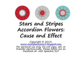 Stars and Stripes Cause and Effect FREEBIE