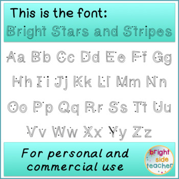 Stars and Stripes Font