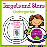 Stars and Targets K Bundle 2 - Reading Strategies