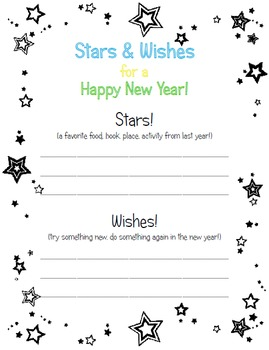 Stars and Wishes for the New Year