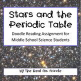 Stars and the Periodic Table--Doodle Reading