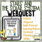 Stars and the Solar System Webquest NGSS 5 ESS1 (Earth's P