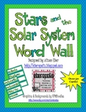 Stars and the Solar System Word Wall