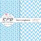 Stars confetti pattern pastel colours & white digital paper set/ backgrounds